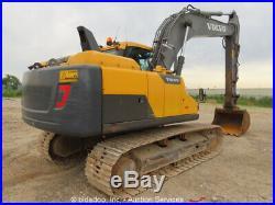 2013 Volvo EC160DL Hydraulic Excavator A/C Cab Tractor Aux Hyd bidadoo