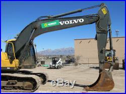 2013 Volvo EC220DL Hydraulic Excavator A/C Cab Aux Hyd Diesel Tractor bidadoo