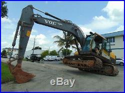 2013 Volvo Ec160-dl 37,000 Lb Medium Excavator Air Conditioned 141 HP Turbo