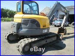 2013 Volvo Ecr88 Compact Excavator With Rubber Tracks