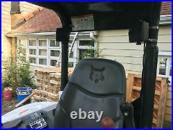 2014 Bobcat E35 Excavator 35hp Zts Zero Turn Swing Clamp Lights Radio