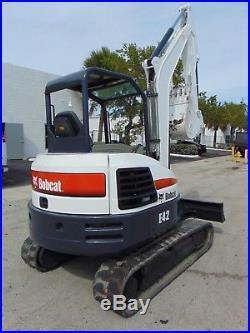 2014 Bobcat E42 Mini Excavator 10k Lbs Only 1,285 Hours Keyless Security