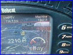 2014 Bobcat E50 Mini Excavator Cab Heat/ac Aux Hyd Hyd Thumb Hys Angle Blade 2sp