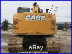 2014 Case CX235C SR Excavator Hydraulic Cab Q/C Aux bidadoo