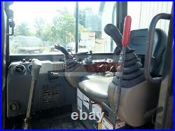2014 Case Cx55b Mini Excavator Cab Heat/ac Aux Hyd 1404 Hrs 40 HP Yanmar Diesel