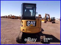 2014 Caterpillar 303.5e2 Cr Mini Track Excavator Cab Air Aux Hyd Cat 303.5 303