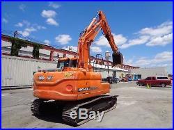 2014 Doosan DX140 Hydraulic Crawler Excavator Only 1200 Hours
