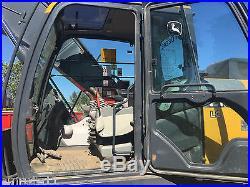 2014 John Deere 210G Track Excavator Full Cab JD Diesel Excavator Hyd Thumb