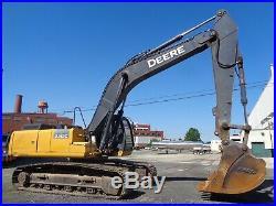 2014 John Deere 350G Hydraulic Crawler Excavator Loader Diesel