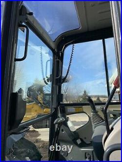 2014 John Deere 35D Mini-Excavator / Backhoe Zero-Tail