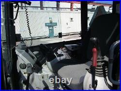 2014 John Deere 35G Mini Excavator Loader Diesel Cab