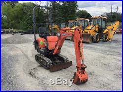 2014 Kubota KX008-3 Hydraulic Mini Excavator Super Clean Only 1100Hrs