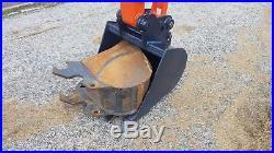 2014 Kubota KX121-3ST Diesel Hydraulic Mini Excavator 6 way blade Track Hoe