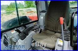 2014 Kubota Kx080-4, Cab With Heat & A/c, Float Angle Blade, And Thumb