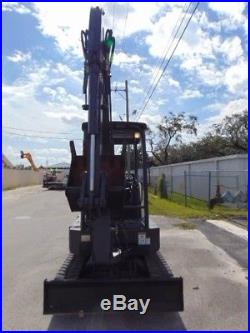 2014 TEREX TC-35 MINI EXCAVATOR 7,700 LBS 2 SPEED With BLADE ONLY 1,159 HOURS