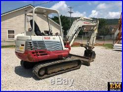 2014 Takeuchi TB235 Mini Excavator Hydraulic Thumb Rubber Track Crawler Diesel