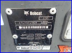 2015 Bobcat E35i Mini Excavator, Cab, Heat/ac, Hyd Thumb, Angle Blade, Long Arm
