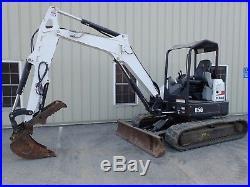 2015 Bobcat E50 Excavator, Long Arm, Hyd Thumb, 2 Spd, Aux Hydraulics, X-change