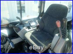 2015 Bobcat E50 Mini Excavator, Cab, Heat/ac, Long Arm, Angle Blade, 2spd, 49.8hp