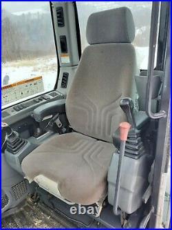 2015 Bobcat E85 Excavator Hydraulic Thumb Long Arm Cab A/c Very Nice! We Finance