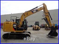 2015 CAT 312 Hydraulic Crawler Excavator With Hydraulic Thumb