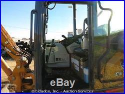 2015 Case CX55B Mini Excavator Cab Heat A/C Hydrualic Thumb Rubber Tracks