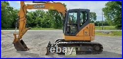 2015 Case CX75CSR Excavator. Only 1342 One Owner Hours! Just Serviced