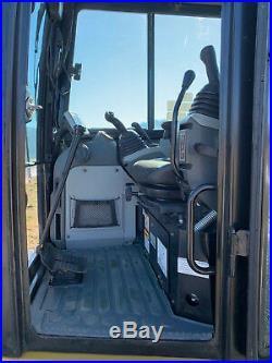 2015 Cat 305E2 CR Mini Track Excavator CAB HEAT/AIR