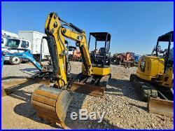 2015 Caterpillar 303E Excavator Hyd Thum MIni Ex Trackhoe 925Hrs 24Hp 6221Weight