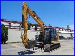 2015 Caterpillar 312E Hydraulic Excavator Diesel Enclosed Cab