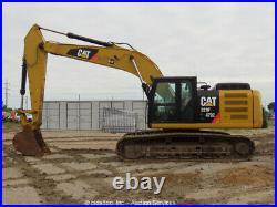 2015 Caterpillar 329FL Hydraulic Excavator Cab A/C Cat C7.1 Diesel bidadoo