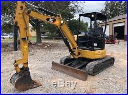 2015 Caterpillar Cat 303.5E2 CR Mini Excavator Track Hoe