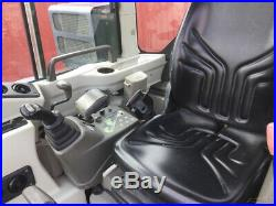 2015 Gehl Z45 Hydraulic Mini Excavator with Cab Clean One Owner Machine