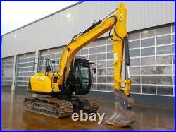 2015 JCB JS145LC Digger / Excavator 700mm Pads