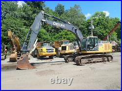 2015 John Deere 290G LC Hydraulic Excavator CLEAN! THUMB! LONG U/C 290GLC 290