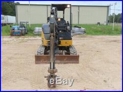 2015 John Deere 35G Mini Excavator Rubber Aux Hyd 2-Spd Tracks Backhoe bidadoo