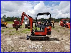 2015 Kubota Kx018-4 Mini Excavator Only 231 Hours! Diesel, Pilot Controls, Q/c