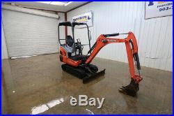 2015 Kubota Kx018 Mini Track Excavator, Straight Blade