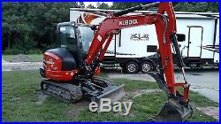2015 Kubota Kx040-4 Excavator Loaded Exceptional 150 Hrs We Ship Nationwide