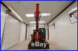 2015 Kubota Kx080-4r3 Excavator, Cab, Ac/heat, Dual Aux Hyd, 2-speed, 1386 Hrs