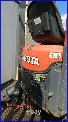 2015 Model Kubota K008-3 Mini Excavator with Equipment Trailer- Only 618 Hours