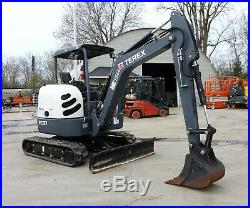 2015 Terex TC37 Mini Excavator 80.1 Hours! 8,000lb Machine
