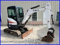 2016 Bobcat E26 Mini Excavator, Erops, Heat/ac, Long Arm, Aux Hydraulics, 942hrs