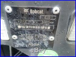 2016 Bobcat E26 Mini Excavator, Orops, 2 Spd, Aux Hydraulics, X-change, 24.8 HP