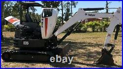 2016 Bobcat E35 Mini Excavator -814 Hours Excellent Condition