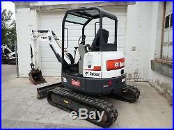 2016 Bobcat E35i Mini Excavator, Orops, 2 Spd, Aux Hydraulics, 462 Hrs, 24.8 HP