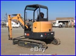 2016 Bobcat E35i Mini Excavator Rubber Track Backhoe Kubota Diesel Aux Hyd New