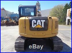 2016 CAT 308E2-CR Enclosed Cab- Heat/ AC -Diesel