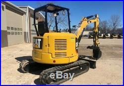 2016 Caterpillar 303.5E2 CR Rubber Track Mini Excavator