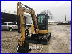 2016 Caterpillar 305E2 CR New Unused Rubber Track Excavator Hyd Thumb Swing Boom